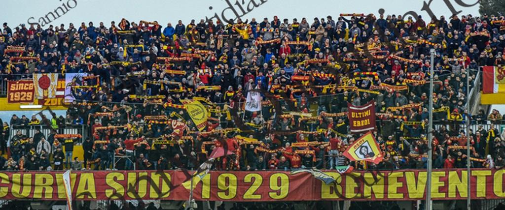 Benevento, sale la febbre giallorossa: sarà record stagionale di spettatori