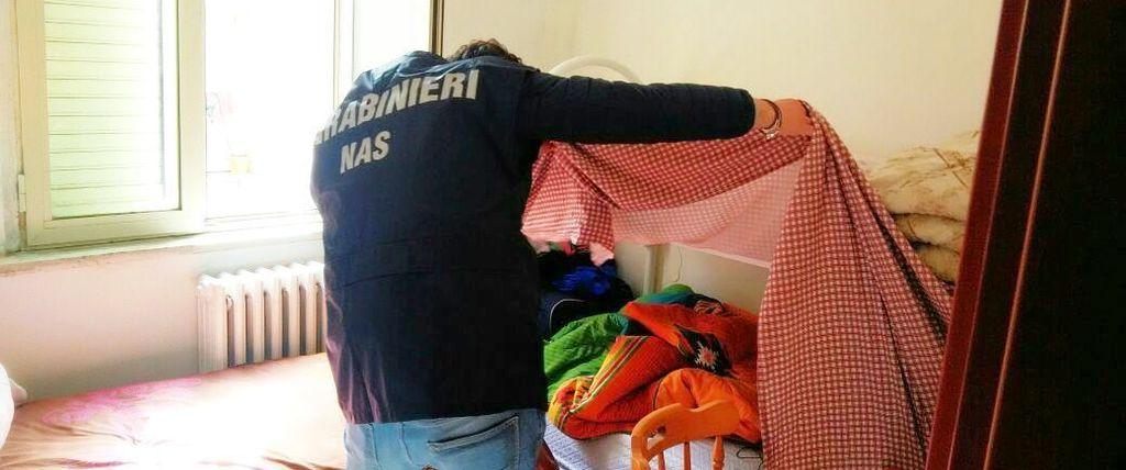 Centri accoglienza, altri due sequestri dei Nas